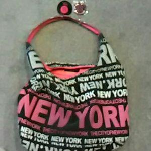 New York large Hobo Bag